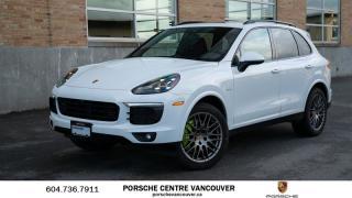 Used 2018 Porsche Cayenne S e-Hybrid Platinum Edition | PORSCHE CERTIFIED for sale in Vancouver, BC
