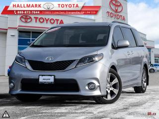 Used 2015 Toyota Sienna SE 8-Pass V6 6A ONE OWNER, WELL MAINTAIN AND CLEAN SIENNA, MUST TEST DRIVE IT for sale in Mono, ON
