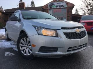 Used 2011 Chevrolet Cruze LS w/1SA CLEAN 6 SPEED MANUAL SHIFT for sale in Bradford, ON