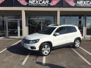 Used 2014 Volkswagen Tiguan 2.0 TSI COMFORTLINE AWD LEATHER PANO/ROOF 122K for sale in North York, ON