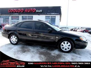 Used 2004 Ford Taurus SEL PremiumAutomatic Leather Sunroof for sale in Milton, ON
