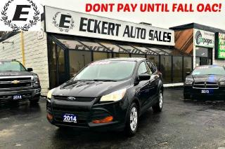 Used 2014 Ford Escape S WITH REVERSE CAMERA/BLUETOOTH for sale in Barrie, ON