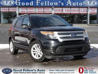 Used 2014 Ford Explorer XLT MODEL, FWD, 6 PASSENGER,LEATHER SEATS, PANROOF for sale in North York, ON