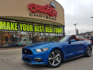 Used 2017 Ford Mustang V6 CONVERTIBLE R-START SYNC for sale in Scarborough, ON