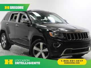 Used 2014 Jeep Grand Cherokee LTD T.OUVRANT CAMÉRA for sale in St-Léonard, QC