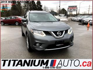 Used 2015 Nissan Rogue SV+Camera+Panoramic Roof+Heated Power Seat+XM Radi for sale in London, ON