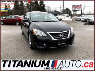Used 2014 Nissan Sentra SR+GPS+Camera+Sunroof+Heated Seats+Bose Sound+XM++ for sale in London, ON