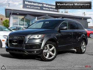 Used 2011 Audi Q7 S-LINE 3.0T QUATTRO SUPERCHARGED |NAV|CAMERA|7PASS for sale in Scarborough, ON
