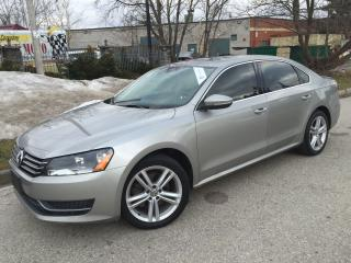 Used 2012 Volkswagen Passat 2.5L Man Comfortline,LEATHER,SUNROOF for sale in Mississauga, ON