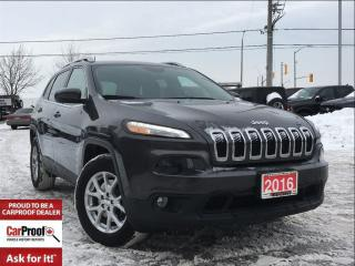 Used 2016 Jeep Cherokee *4X4*NORTH*LEATHER*ALLOYS* for sale in Mississauga, ON