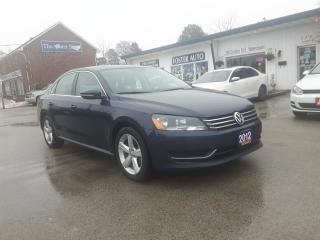 Used 2012 Volkswagen Passat 2.5L Comfortline for sale in Waterdown, ON