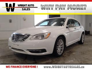 Used 2013 Chrysler 200 Limited|LEATHER|SUNROOF|LOW MILEAGE|83,528 KMS for sale in Cambridge, ON