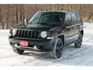 Used 2012 Jeep Patriot Sport/North 4x4 | Heated Seats | CERTIFIED for sale in Waterloo, ON