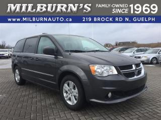 Used 2017 Dodge Grand Caravan Crew Plus, REAR CAMERA for sale in Guelph, ON