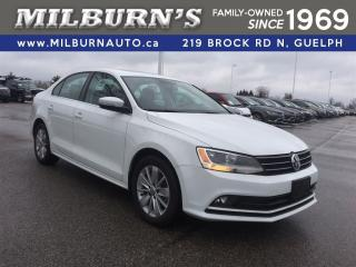 Used 2015 Volkswagen Jetta Comfortline, REAR CAMERA, SUN ROOF for sale in Guelph, ON