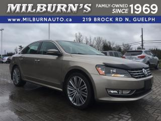 Used 2015 Volkswagen Passat Comfortline, LEATHER, NAVI, REAR CAMERA, SUN ROOF for sale in Guelph, ON