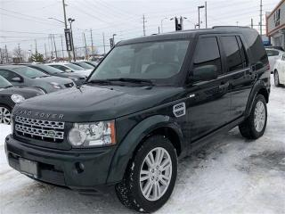 Used 2011 Land Rover LR4 LUXURY, 7 PASSENGER, NAVI, PANO, CAMERA for sale in North York, ON