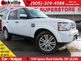 Used 2012 Land Rover LR4 HSE | LEATHER | PANOROOF | NAVI | 4X4 | 7 PASS for sale in Oakville, ON