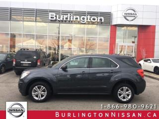Used 2011 Chevrolet Equinox LS, ACCIDENT FREE !, WOW ONLY 68, 000 KM'S ! for sale in Burlington, ON