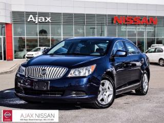 Used 2011 Buick LaCrosse CX 2.4L 1SA Bluetooth*Air Con*Alloys for sale in Ajax, ON