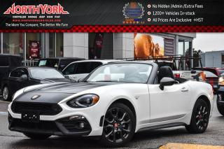 Used 2017 Fiat 124 Spider Abarth|Manual|Luxury Pkg|BOSE|Nav|Heat Frnt.Seats|17