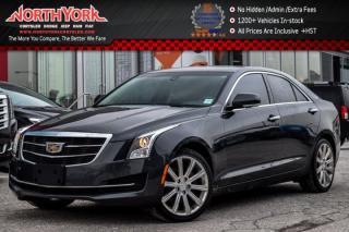 Used 2015 Cadillac ATS Sedan Luxury AWD|Nav|Sunroof|Leather|BOSE|Backup Cam|17