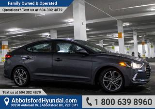 Used 2017 Hyundai Elantra SE DEALERSHIP DEMO, ACCIDENT FREE, & GREAT CONDITION for sale in Abbotsford, BC