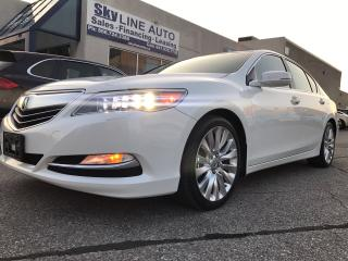 Used 2014 Acura RLX LEATHER|NAVIGATION|BLUETOOTH|BACKUP CAM|SUNROOF|HE for sale in Concord, ON