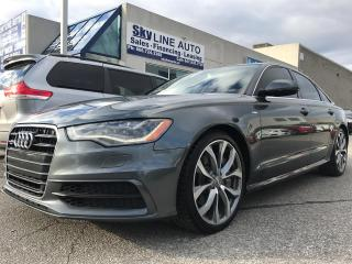Used 2012 Audi A6 HEAT AND COOL SEATS|ALLOY WHEELS|LEATHER SEATS|SUN for sale in Concord, ON