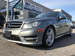Used 2014 Mercedes-Benz C 300 HEATED SEATS|BLUETOOTH|LEATHER|ALLOY WHEELS|CERTIF for sale in Concord, ON