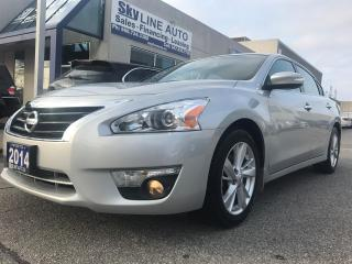 Used 2014 Nissan Altima HEATED SEATS|BLUETOOTH|HEATED STEERING WHEEL|CERTI LANE ASSISST|NAVI|BACK CAM|CERTIFIED for sale in Concord, ON