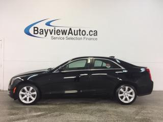 Used 2015 Cadillac ATS - TURBO|AWD|HTD LTHR|BOSE|PUSH BTN STRT|BLUETOOTH! for sale in Belleville, ON