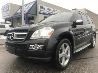 Used 2009 Mercedes-Benz GL-Class 7 PASSENGER|NAVI|BACK CAM|ALLOY WHEELS for sale in Concord, ON