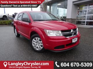 Used 2015 Dodge Journey CVP/SE Plus <b>*4.3 TOUCHSCREEN*ACCIDENT FREE * LOCAL *<b> for sale in Surrey, BC