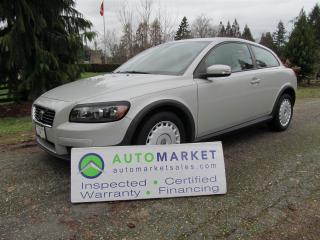 Used 2008 Volvo C30 NAVI, AUTO, LOAD, INSP, FREE WARR for sale in Surrey, BC