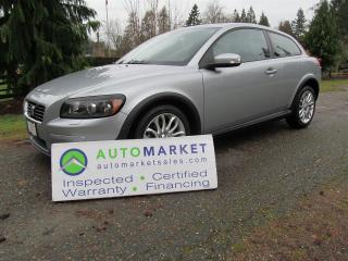 Used 2008 Volvo C30 AUTO, MOONROOF, INSPEWCTED FREE WARRANTY for sale in Surrey, BC