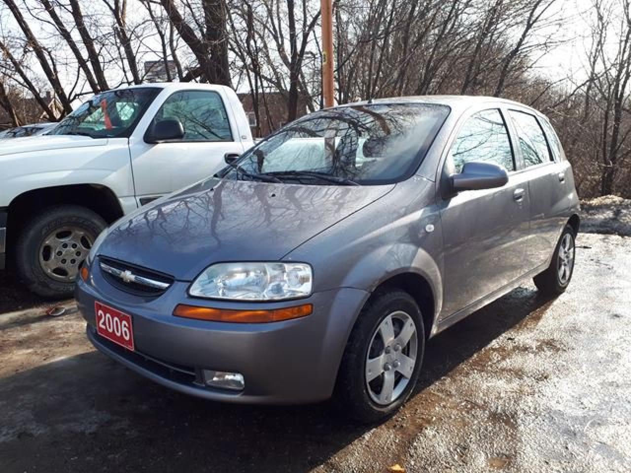 2006 Chevrolet Aveo LT,,certified,,LOW KMS!