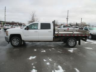 Used 2016 Chevrolet Silverado 3500 LT.CREW CAB.9 FT FLAT BED for sale in London, ON