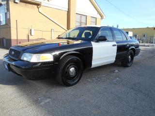 Used 2011 Ford Crown Victoria P71 Police Interceptor 4.6L V8 ONLY 117,000KMs for sale in Etobicoke, ON