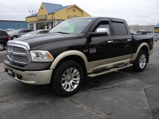 Used 2014 RAM 1500 Longhorn CrewCab 4X4 5ft Box 5.7L Hemi for sale in Brantford, ON