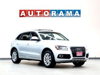 Used 2014 Audi Q5 NAVIGATION LEATHER SUNROOF BACKUP CAM 4WD for sale in North York, ON