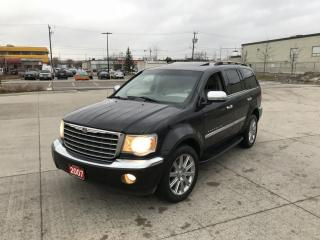 Used 2007 Chrysler Aspen Limited, HEMI eng. 4WD , 8 passenger, DVD, Leather for sale in North York, ON