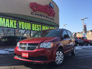 Used 2015 Dodge Grand Caravan SXT FULL STOW AND GO CLIMATE GROUP for sale in Scarborough, ON