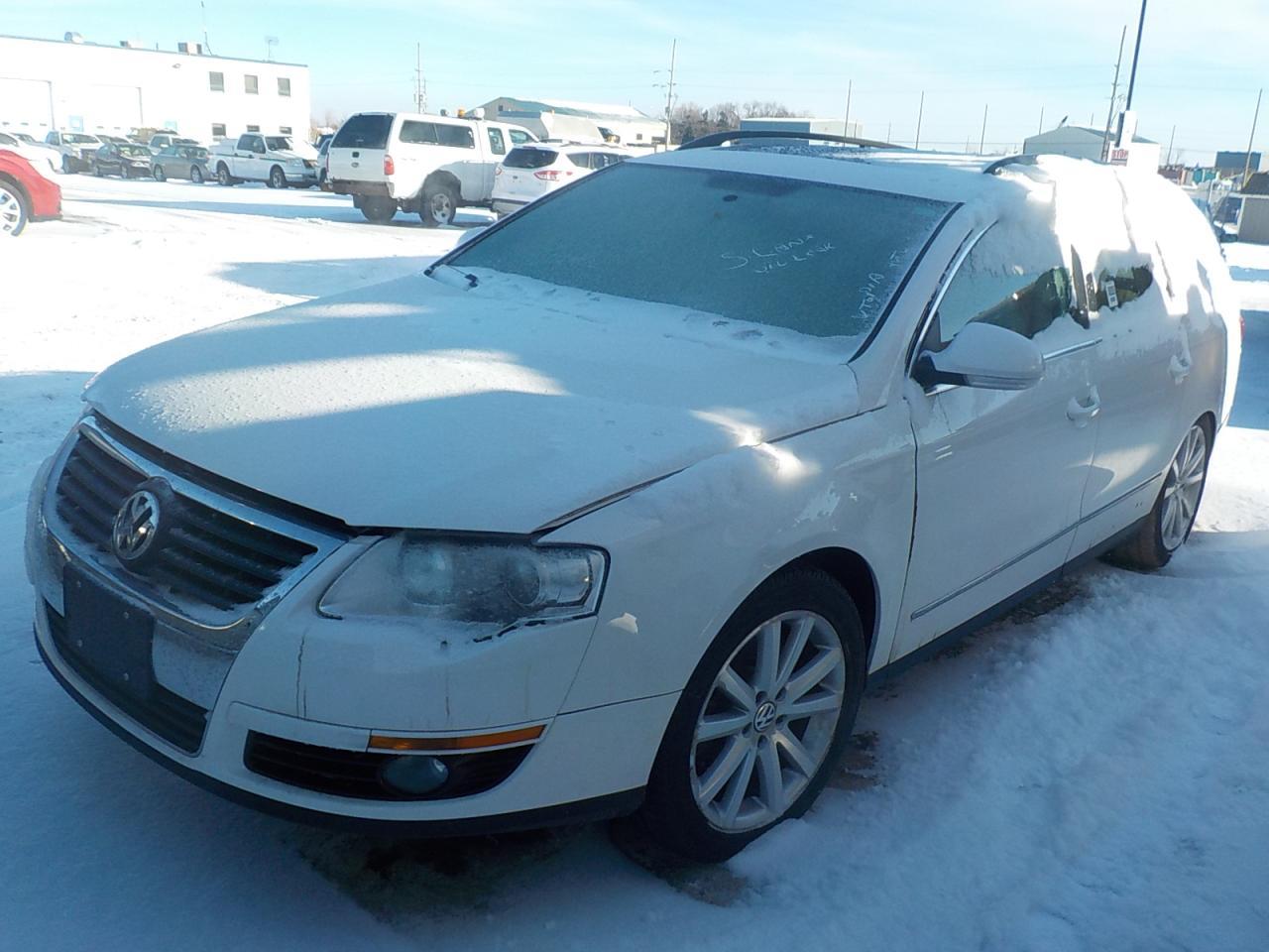 Photo of White 2008 Volkswagen Passat