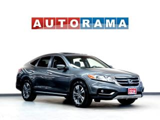 Used 2014 Honda Accord Crosstour EXL NAVIGATION LEATHER SUNROOF 4WD BACKUP CAMERA for sale in North York, ON