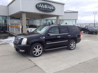 Used 2012 Cadillac Escalade Luxury / DVD / NO PAYMENTS FOR 6 MONTHS !! for sale in Tilbury, ON