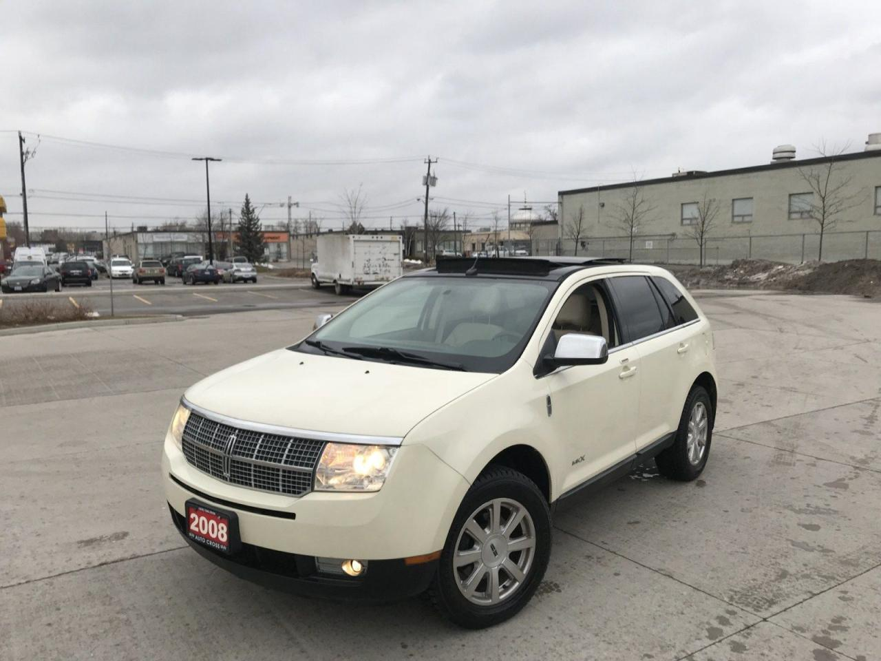 used 2008 lincoln mkx limited leather sunroof 3 y warranty available for sale in north york. Black Bedroom Furniture Sets. Home Design Ideas