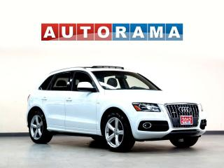 Used 2012 Audi Q5 S-LINE NAVIGATION LEATHER SUNROOF AWD for sale in North York, ON