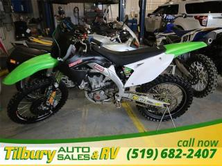Used 2009 Kawasaki KX450F for sale in Tilbury, ON