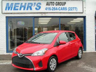 Used 2015 Toyota Yaris LE Hatchback Loaded No Accident Mint Con. for sale in Scarborough, ON